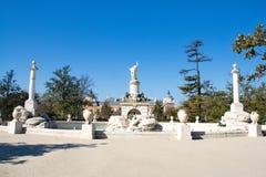 Fontein van het koninklijke paleis Stock Foto