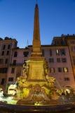 Fontein van het Pantheon royalty-vrije stock afbeeldingen