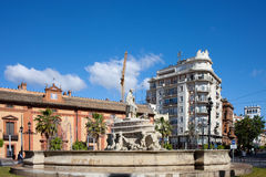 Fontein van Sevilla Stock Afbeelding