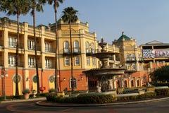 Fontein voor een hotel en casino in Johannesburg Stock Afbeelding