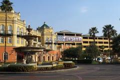 Fontein voor een hotel en casino in Johannesburg Royalty-vrije Stock Foto
