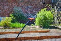 Fontein voor tuin het water geven royalty-vrije stock foto's
