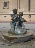 Fontein in Zaragoza Royalty-vrije Stock Fotografie