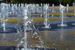 fonteinen Royalty-vrije Stock Afbeelding