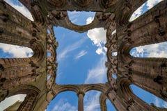 Fonteinen Abbey North Yorkshire royalty-vrije stock afbeeldingen
