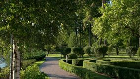 Fonteinen en park