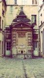 Fonteinstraat Art Paris Stock Afbeelding