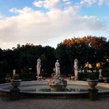 Fonteinvilla Borghese Rome Stock Fotografie
