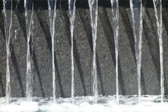Fonteinwater Stock Afbeelding