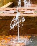 Fonteinwater Royalty-vrije Stock Afbeeldingen