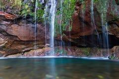 25 fonteinwaterval in Rabacal Stock Afbeeldingen