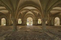 Fontenay Abbey Stock Photos
