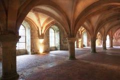 Fontenay abbotskloster, Frankrike royaltyfri foto