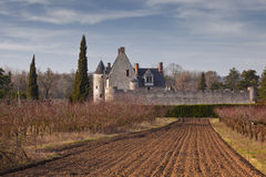 Fontenay chateau Stock Photos