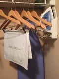 Fontes da lavanderia em um hotel Foto de Stock Royalty Free