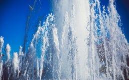 Fontes de água da dança Imagens de Stock
