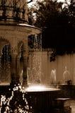 Fontes de água do palácio fotografia de stock