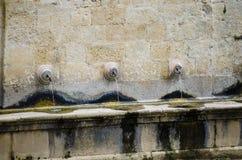 Fontes de água públicas Fotografia de Stock