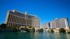 Fontes de Bellagio em Las Vegas fotos de stock