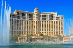 Fontes de Bellagio, Las Vegas, Estados Unidos Imagens de Stock Royalty Free
