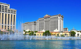 Fontes de Bellagio, Las Vegas, Estados Unidos Foto de Stock Royalty Free