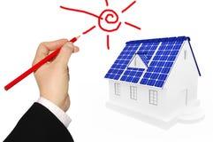 Fontes de energia alternativas Imagem de Stock Royalty Free