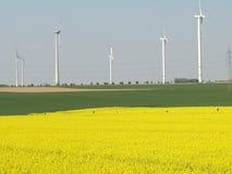 Fontes de energia regenerativas Fotografia de Stock Royalty Free