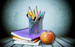 Fontes de escola Imagem de Stock