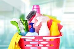 Fontes sanitárias domésticas Artigos do agregado familiar Foto de Stock Royalty Free