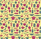 Fontes sem emenda da cozinha Imagem de Stock