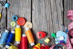 Fontes Sewing Imagem de Stock