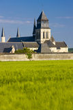 Fontevraud Abbey Royalty Free Stock Photos