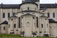 Fontevraud Abbey Stock Image
