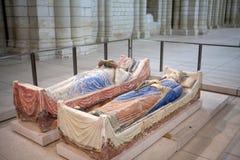 Fontevraud abbotskloster - Loire Valley Fotografering för Bildbyråer