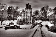 Fonthill museum i Doylestown, Pennsylvania Royaltyfria Bilder