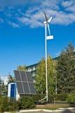 Fonti di energia alternative Fotografie Stock Libere da Diritti