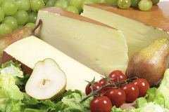 Fontina cheese royalty free stock photography