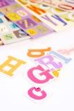 Fonts Royalty Free Stock Photos