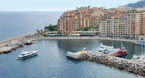 Fontvieille. Stock Photos