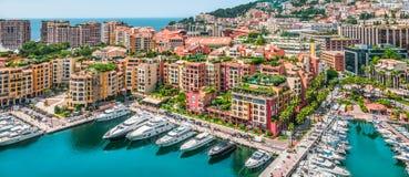 Fontvieille, Mônaco, França foto de stock