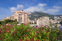 Fontvieille. Monaco Stock Images