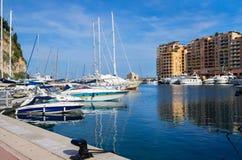 Fontvieille. Monaco Stock Image