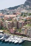 fontvieille Monaco Zdjęcie Stock