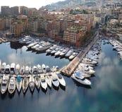 Fontvieille Monaco Royalty-vrije Stock Fotografie