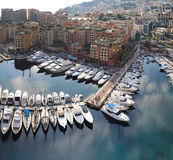 Fontvieille Monaco Royalty Free Stock Photography