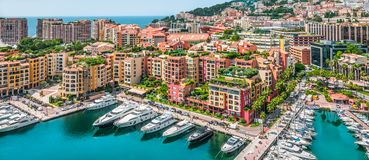 Fontvieille, Monaco, France stock photo