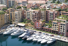 Fontvieille, Monaco Stock Images
