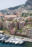 Fontvieille, Monaco Stock Photo