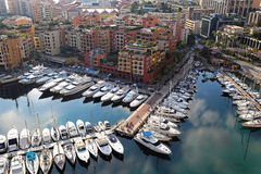 Fontvieille Monaco Royalty Free Stock Images