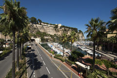 Fontvieille, Monaco Stock Photography